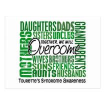 Family Square Tourette's Syndrome Postcard