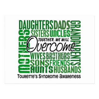 Family Square Tourette's Syndrome Postcard