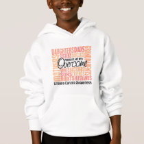 Family Square Uterine Cancer Hoodie