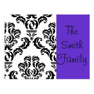 Family Stationary Postcard