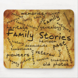 Family Stories Mouse Pad