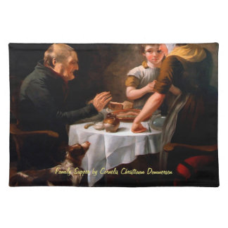 Family Supper Cloth Place Mat