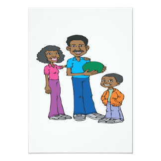 Family That Bowls Together Card