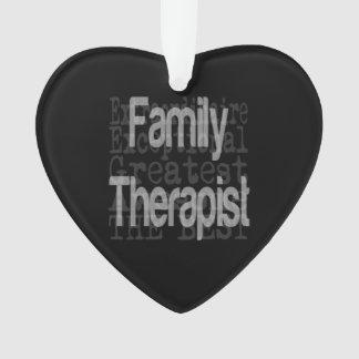 Family Therapist Extraordinaire Ornament