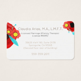 Family The Marriage Love Business Card