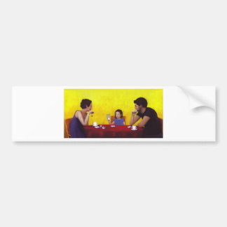 Family Time Bumper Sticker