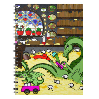 Family time spiral notebook