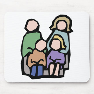Family Together Mouse Pad