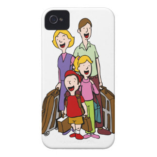 Family Travel iPhone 4 Case-Mate Case