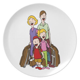 Family Travel Plate