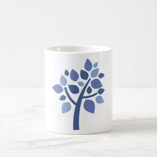 Family Tree 100 - Blue Classic White Coffee Mug