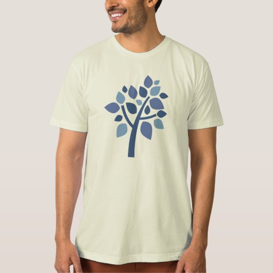 Family Tree 100 - Blue T-Shirt