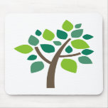 Family Tree 100 - Green Mousepad