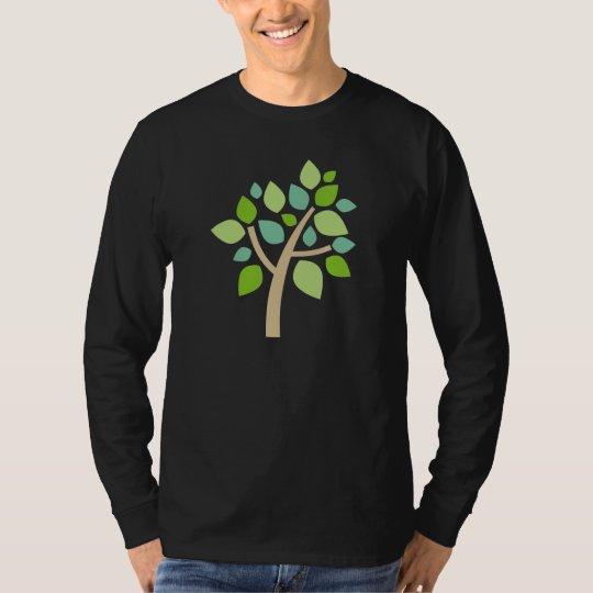 Family Tree 100 - Green T-Shirt