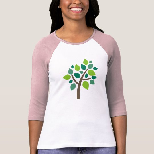 Family Tree 100 - Green T-Shirt