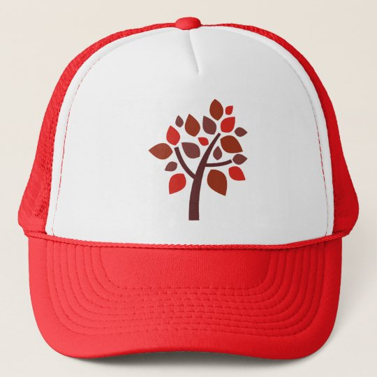 Family Tree 100 - Red Trucker Hat
