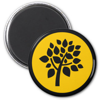 Family Tree 102 2 Inch Round Magnet