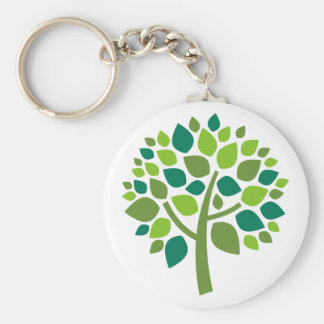 Family Tree 104 Basic Round Button Keychain