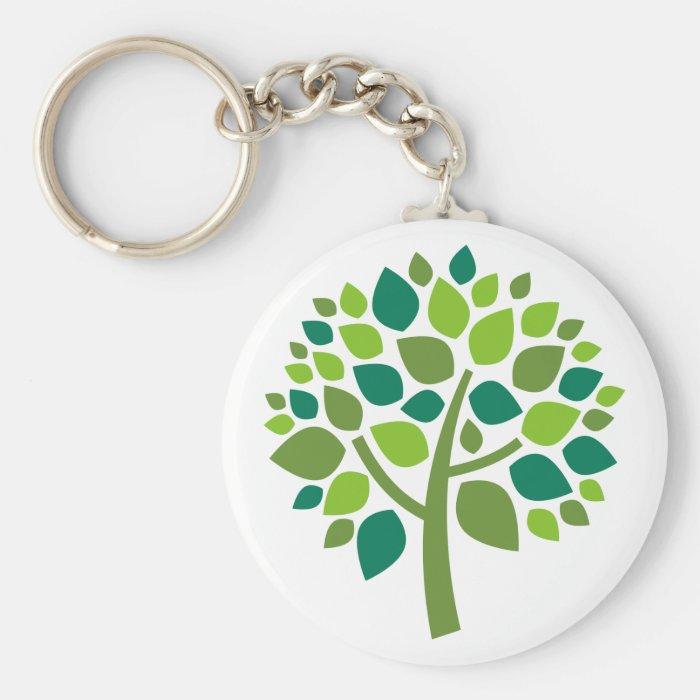 Family Tree 104 Keychain