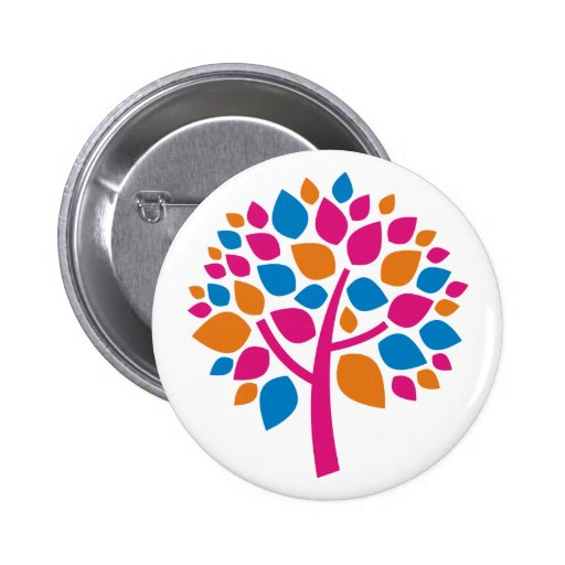 Family Tree 105 2 Inch Round Button