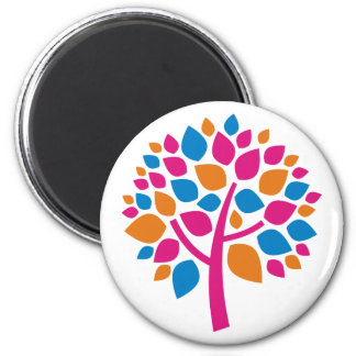 Family Tree 105 2 Inch Round Magnet