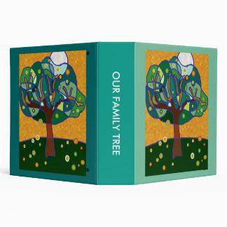 Family tree 3 ring binder
