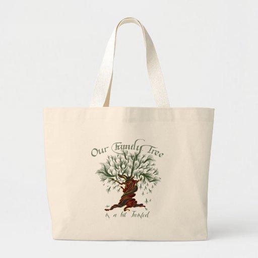 Family Tree a Bit Twisted Bag