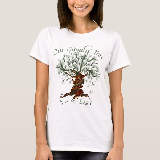 Family Tree a Bit Twisted T-Shirt