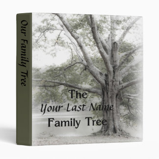 Family Tree Album Vinyl Binders