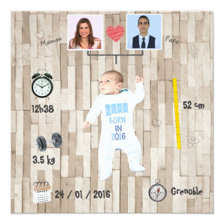 Family tree ⎮ Announcement of birth