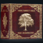 "Family Tree | Antique Album 3 Ring Binder<br><div class=""desc"">An antique book look tree of life artwork.</div>"