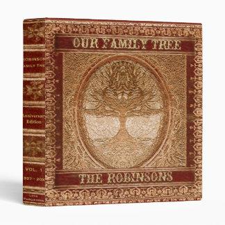 Family Tree | Antique Album or Scrapbook 3 Ring Binder