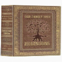 Family Tree | Antique Album or Scrapbook Binder