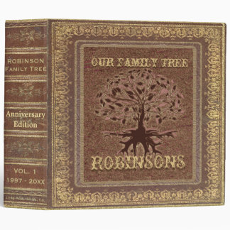 Family Tree | Antique Album or Scrapbook Binder