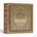 Family Tree | Antique Book Look Binder