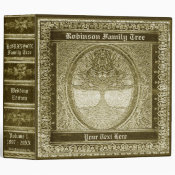 Family Tree | Antique Looking Book Binder (<em>$24.15</em>)