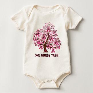 family tree baby bodysuit