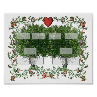 Family Tree Chart 4A