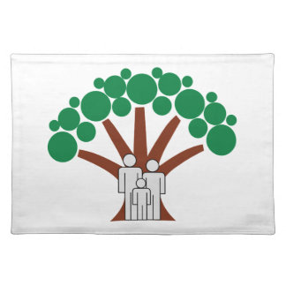 Family Tree Cloth Placemat