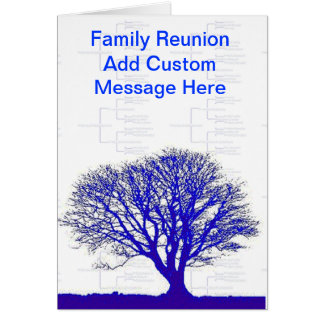 Family Tree Collection Card