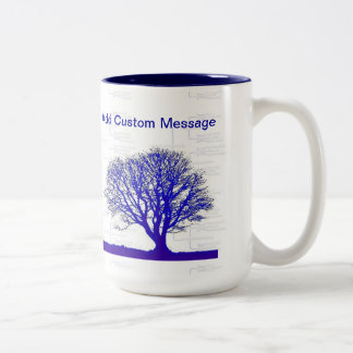 Family Tree Collection Two-Tone Coffee Mug