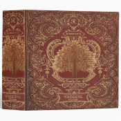 Family Tree | Custom Antique Look Album Binder (<em>$24.15</em>)
