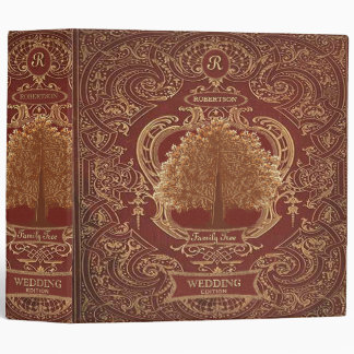 Family Tree | Custom Antique Look Album Binder