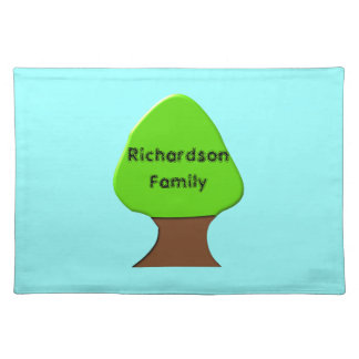 Family Tree Customizable Placemat