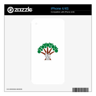 Family Tree Decal For The iPhone 4S