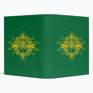 Family Tree - Decorative Pattern 3 Ring Binder