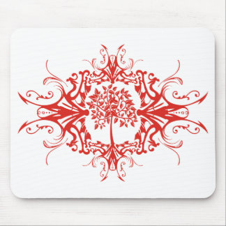 Family Tree - Decorative Pattern Mouse Pads