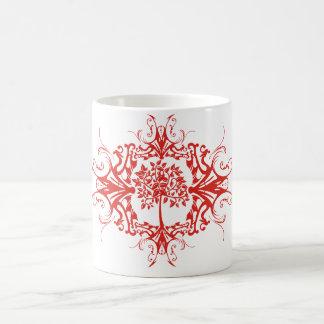 Family Tree - Decorative Pattern Classic White Coffee Mug