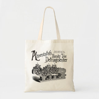Family Tree Defragmenter Canvas Bags