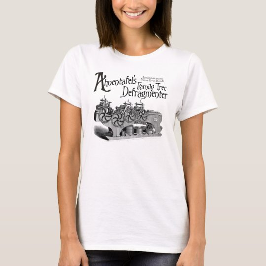 Family Tree Defragmenter T-Shirt